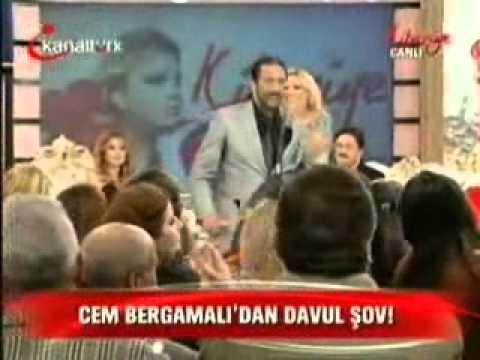 Cem Bergamalı dan doyulmaz davul şov Kanaltürk Kibariye Şov