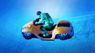 EXTREME UNDERWATER RACE! (GTA 5 Funny Moments)