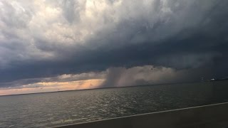 Severe weather in Hampton Roads brings hail to some parts
