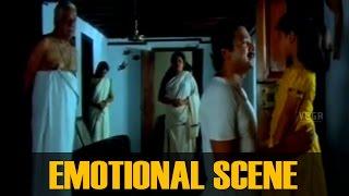 Jayaram, Baby Shamili, Kaviyoor Ponnamma and Rekha Emotional Scene  || Pookalam Varavayi