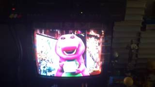 Closing to Barney Waiting For Santa 1995 Reprint