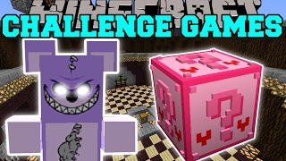 Minecraft: EVIL TEDDY BEAR CHALLENGE GAMES - Lucky Block Mod - Modded Mini-Game