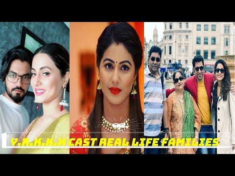 Real families of ye rishta kya kahlata hai cast and characters