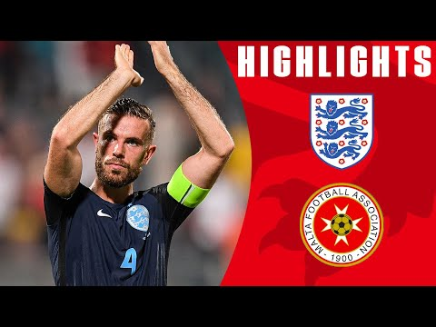 Xxx Mp4 England Score 3 Late Goals To See Off Malta Malta 0 4 England Official Highlights 3gp Sex