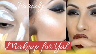 Makeup Mujeres y San Valentine | LA YAL parody