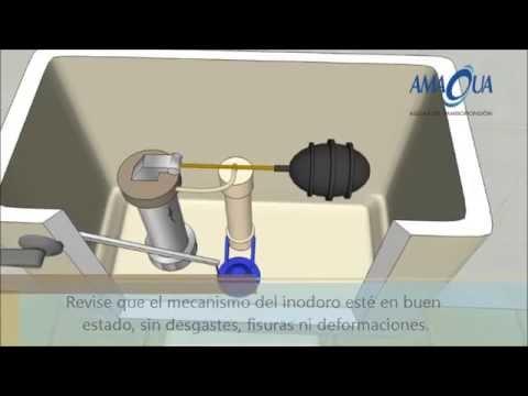 Cómo ahorrar agua en su vivienda. Un servicio público de Amagua