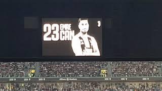 Juventus-napoli 3-1 FORMAZIONI INNO COREOGRAFIA CURVA SUD