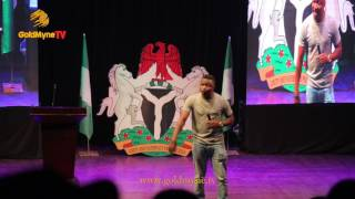 WATCH COMEDIAN, FUNNYBONE CRACK UP FANS AT SENATOR MOST DISTINGUISHED