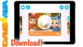 😀  Dave and Ava's App for IOS   Nursery Rhymes and Baby Songs from Dave and Ava 😀