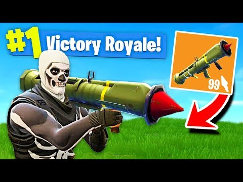 NEW LEGENDARY GUIDED MISSILE LAUNCHER Gameplay In Fortnite Battle Royale