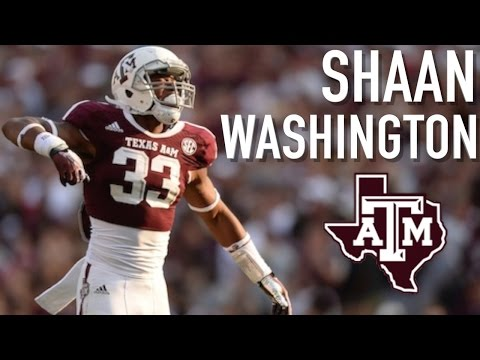 Shaan Washington Nations Most Underrated Linebacker Texas A&M Highlights