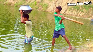 Indian New funny Video😄-😅Hindi Comedy Videos 2019-Episode-51--Indian Fun    ME Tv