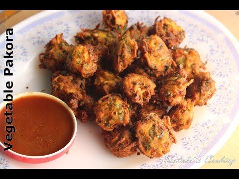সবজি পাকোড়া    Vegetable Pakora Recipe    Bangladeshi sobji pakora