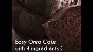Eggless Oreo Cake with 4 ingredients in Pressure cooker How to make a Eggless Cake in PressureCooker