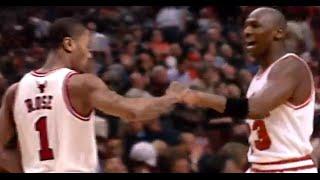 Derrick Rose & Michael Jordan - Wings