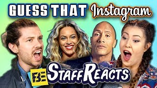 GUESS THAT CELEBRITY INSTAGRAM CHALLENGE! (ft. FBE Staff)