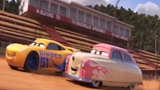 Cruz Ramirez  And  Lightning McQueen TWO CHAMPION !  New Deleted Scenes After Cars 3  [ HD Bluray ]