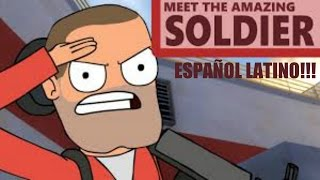 Meet the amazing soldier!! - Español latino (FanDub)