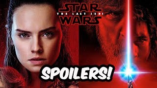 Huge Spoilers About Rey And Luke In Act I Of The Last Jedi - STAR WARS