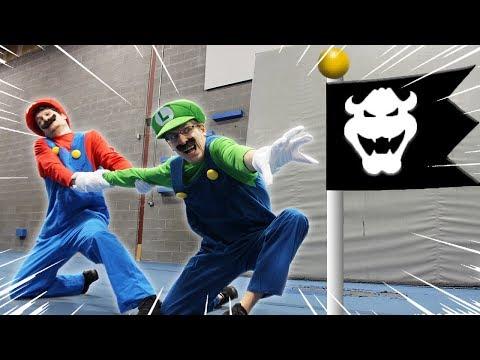 Xxx Mp4 Mario VS Luigi Racing Super Mario Bro U Deluxe Level In Real Life 3gp Sex