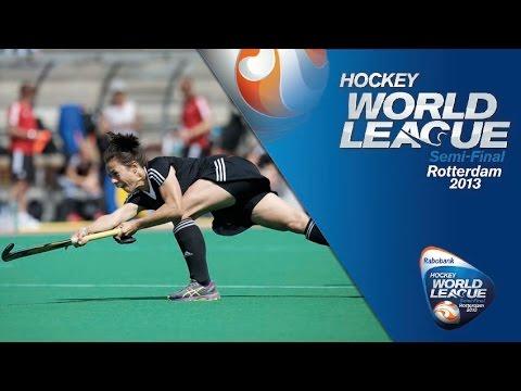 India vs Germany Women's Hockey World League Rotterdam Pool B [16/6/13]