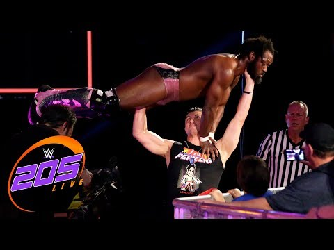 TJP attacks Rich Swann: WWE 205 Live, Sept. 19. 2017