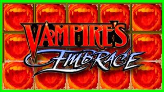 Live Play On Vampire Embrace Slot Machine