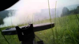 Kalinov 1944/2014 reenactment battle with DP-27 DP-28 headcam