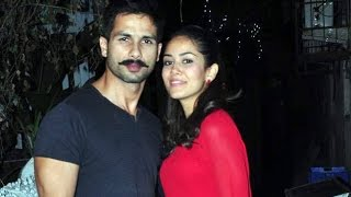Mira Turns Shahid Cordial With People Around | Bollywood News