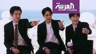 #صباح_العربية : لقاء فرقة #EXO في دبي على العربية - الجزء الثاني