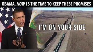Obama, remember your promises to Native Americans? Here's a reminder