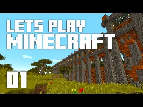 Let's Play Minecraft: For The Fun! (Episode 1)