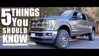 5 Things You Need to Know - 2017 Super Duty