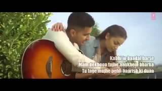 Kabhi jo badal barse-english version