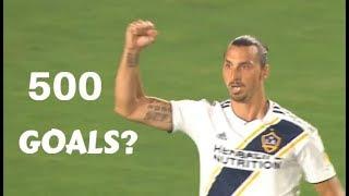Zlatan Ibrahimovic 497th, 498th, 499th Goals