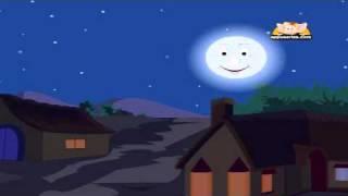 The Man In The Moon with Lyrics - Nursery Rhyme