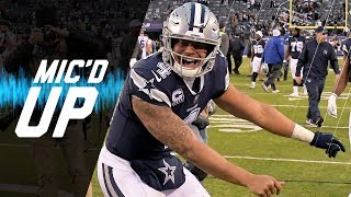 Dak Prescott Mic'd Up vs. Giants