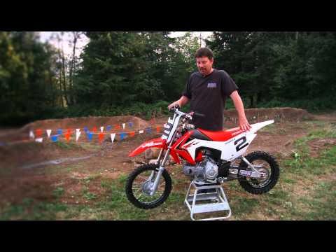 BBR Presents the New Long Awaited 2013 Honda CRF110