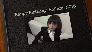 Happy Birthday, AbRam Khan 2016
