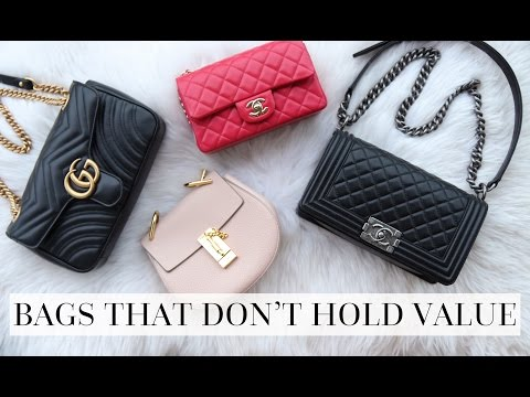 BAGS THAT DON'T HOLD THEIR VALUE   AD