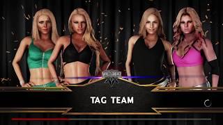 WWE 2K18 Wrestlemania 20 Sable Torrie Wilson vs Miss Jackie Stacy