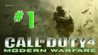 Let´s Play Call of Duty 4 Modern Warfare Part 1 [Deutsch/HD]