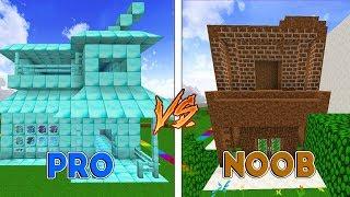 Minecraft: CASA DE DIAMANTE VS CASA DE TERRA! ft. Juw (Coelha)