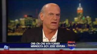 Shawn Hannity gets owned by Jesse Ventura on Shawn