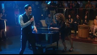Lucifer 3x17 — Lucifer Sings 'I Will Survive'