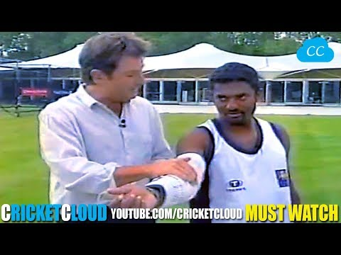 Xxx Mp4 Legend Muttiah Muralitharan Bowling With STEEL ARM Brace Proving His Action Is LEGAL 3gp Sex
