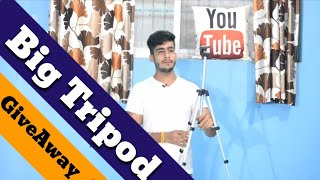 Big Tripod Free Giveaway | How to get free products | Tech2next Giveaway