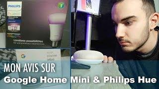 J'AI UNE CHAMBRE CONNECTÉE ! Google Home Mini / Philips Hue