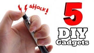 5 Cool Homemade Gadgets!
