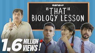 MensXP:  That 'Biology' Lesson - Teachers' Day Special   Teachers' Day Sketch